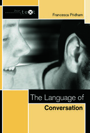 The Language of Conversation - 1st Edition book cover