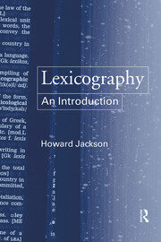 Lexicography - 1st Edition book cover