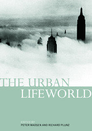 The Urban Lifeworld - 1st Edition book cover