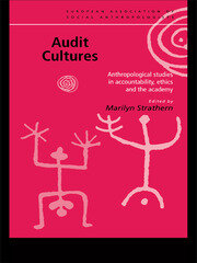 Audit Cultures - 1st Edition book cover