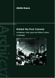 Behind the Postcolonial - 1st Edition book cover