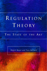 Regulation Theory - 1st Edition book cover