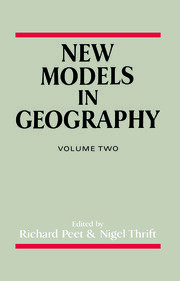 New Models In Geography V2 - 1st Edition book cover