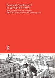Renewing Development in Sub-Saharan Africa - 1st Edition book cover
