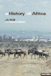 A History of Africa - 4th Edition book cover