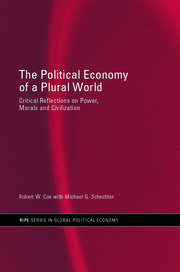 The Political Economy of a Plural World - 1st Edition book cover