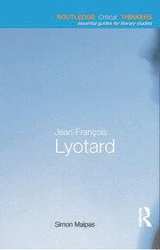 Jean-François Lyotard - 1st Edition book cover