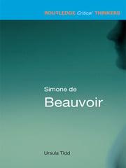 Simone de Beauvoir - 1st Edition book cover