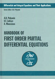 Handbook of First-Order Partial Differential Equations
