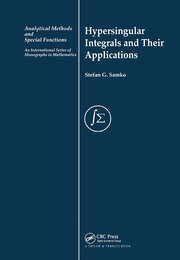 Hypersingular Integrals and Their Applications - 1st Edition book cover