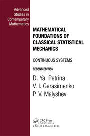 Mathematical Foundations of Classical Statistical Mechanics - 1st Edition book cover