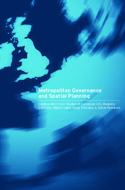 Metropolitan Governance and Spatial Planning - 1st Edition book cover
