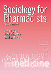 Sociology for Pharmacists - 2nd Edition book cover