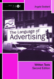 The Language of Advertising - 2nd Edition book cover