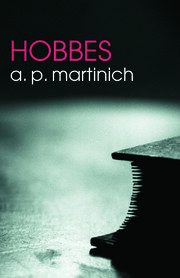 Hobbes - 1st Edition book cover