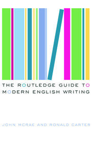 The Routledge Guide to Modern English Writing - 1st Edition book cover
