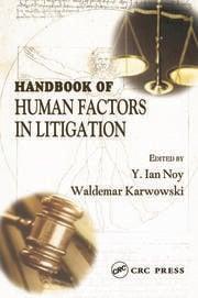 Handbook of Human Factors in Litigation