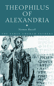 Theophilus of Alexandria - 1st Edition book cover