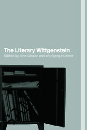 The Literary Wittgenstein - 1st Edition book cover