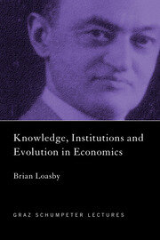 Knowledge, Institutions and Evolution in Economics - 1st Edition book cover