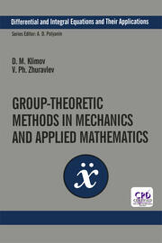 Group-Theoretic Methods in Mechanics and Applied Mathematics