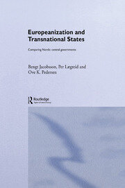 Europeanization and Transnational States - 1st Edition book cover