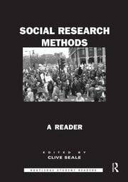 Social Research Methods - 1st Edition book cover