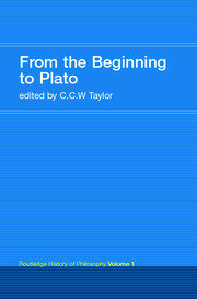 From the Beginning to Plato - 1st Edition book cover