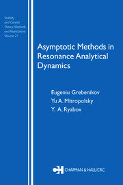 Asymptotic Methods in Resonance Analytical Dynamics