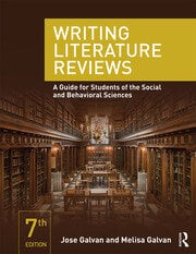 Writing Literature Reviews : A Guide for Students of the Social and Behavioral Sciences - 7th Edition book cover