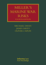 Miller's Marine War Risks - 4th Edition book cover