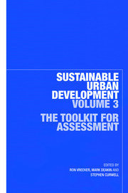 Sustainable Urban Development Volume 3 - 1st Edition book cover