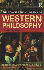 The Concise Encyclopedia of Western Philosophy - 3rd Edition book cover