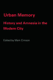 Urban Memory - 1st Edition book cover