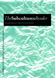 The Subcultures Reader - 2nd Edition book cover