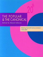The Popular and the Canonical - 1st Edition book cover