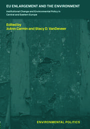 EU Enlargement and the Environment - 1st Edition book cover