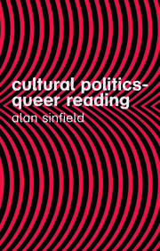Cultural Politics - Queer Reading - 2nd Edition book cover