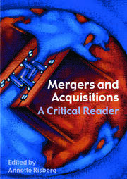 Mergers & Acquisitions - 1st Edition book cover