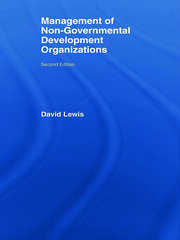 The Management of Non-Governmental Development Organizations - 1st Edition book cover