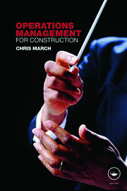 Operations Management for Construction - 1st Edition book cover