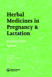 Herbal Medicines in Pregnancy and Lactation: An Evidence-Based Approach
