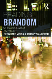 Reading Brandom - 1st Edition book cover