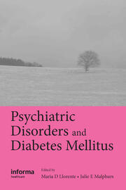 Psychiatric Disorders and Diabetes Mellitus - 1st Edition book cover