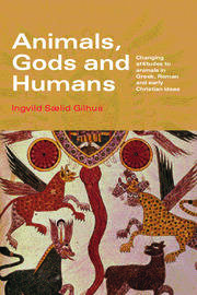 Animals, Gods and Humans - 1st Edition book cover