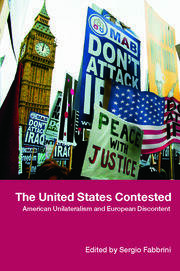 The United States Contested - 1st Edition book cover