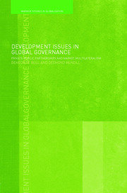 Development Issues in Global Governance - 1st Edition book cover