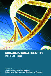Organizational Identity in Practice - 1st Edition book cover