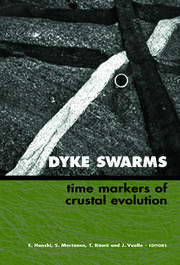Dyke Swarms - Time Markers of Crustal Evolution: Selected Papers of the Fifth International Dyke Conference in Finland, Rovaniemi, Finland, 31 July- 3 Aug 2005 & Fourth International Dyke Conference, Kwazulu-Natal, South Africa 26-29 June 2001