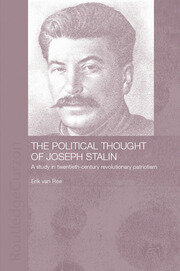 The Political Thought of Joseph Stalin - 1st Edition book cover